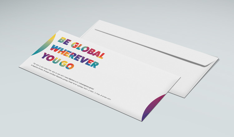 הדפסת מעטפות ממותגות